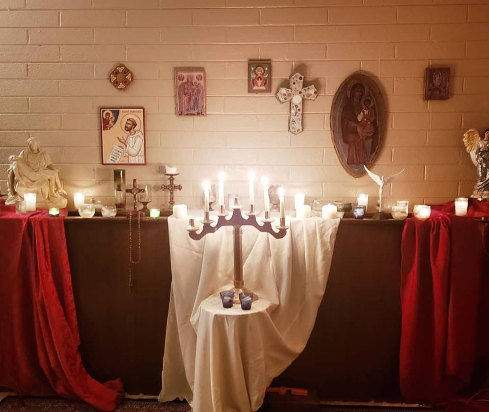 campus ministry altar